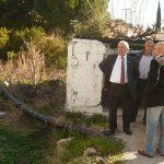Επίσκεψη του Δημάρχου Χαλκιδέων στην Αγία Ελεούσα