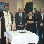 Ο δήμαρχος Χαλκιδέων στην κοπή της πίτας του ΚΑΠΗ Αυλίδας