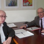 Επίσκεψη δημάρχου στο Υπουργείο Εργασίας