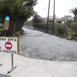 Aσφαλτόστρωση δρόμου προς την παραλία Αλυκών