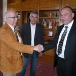 Συνάντηση με τον Βούλγαρο Δήμαρχο Nikolay Yordanof