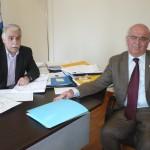 Στο Υπουργείο Εσωτερικών ο Δήμαρχος Χαλκιδέων