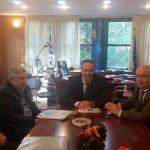 Συνάντηση δημάρχου Χαλκιδέων με τον υφυπουργό Υποδομών