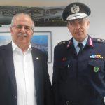 Επίσκεψη του νέου Ταξίαρχου στο Δήμαρχο Χαλκιδέων