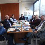 Συνάντηση δημάρχου Χαλκιδέων με τον πρόεδρο του Ταμείου Παρακαταθηκών και Δανείων