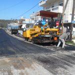 """Ασφαλτόστρωση δρόμων στη συνοικία """"Οντάθι"""""""