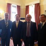 The Head of the Taiwanese Delegation visited the City of Chalkida