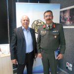 Επίσκεψη νέου διοικητή στον δήμαρχο Χαλκιδέων