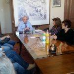 Επίσκεψη της Διοικούσας Επιτροπής του ΤΕΕ στον δήμαρχο Χαλκιδέων