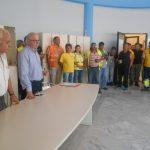 Συνάντηση Δημάρχου Χαλκιδέων με τους εργαζόμενους της Καθαριότητας