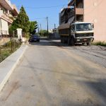 Διάνοιξη δρόμων στην περιοχή της Κανήθου