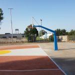 Ανακατασκευή γηπέδου μπάσκετ στο Βασιλικό