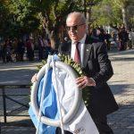 Στην επέτειο για την Εθνική Αντίσταση ο Δήμαρχος Χρήστος Παγώνης.