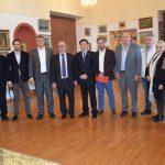 Επίσκεψη Κινεζικής Αντιπροσωπείας του Δήμου Wuhan στο Δήμο Χαλκιδέων