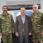 Επίσκεψη του νέου Διευθυντή Πεζικού στον Δήμαρχο