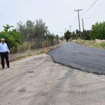 Ασφαλτόστρωση δρόμων στη Δημοτική Ενότητα Ανθηδόνας