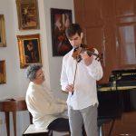 Εξαιρετικό ρεσιτάλ βιολιού από τον Στ. Παναγόπουλο και τον Γ. Δεμερτζή