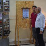 Επίσκεψη Δημάρχου Χαλκιδέων στην έκθεση των Σχολών του ΟΑΕΔ