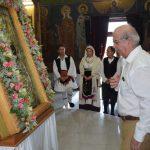 Στην Χαλκίδα έφτασε η εικόνα της Παναγίας Ξενιάς από τον Βόλο