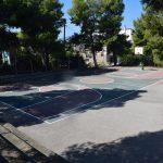 Eπισκευάσθηκε και εξωραΐστηκε το γήπεδο μπάσκετ στους Αγίους Αναργύρους