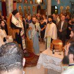 Στην εορτή της Αγίας Σοφίας στην Ξηρόβρυση ο Δήμαρχος Χαλκιδέων με αντιπροσωπεία του Δήμου