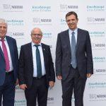 Στην παρουσίαση της νέας επένδυσης της Nestle ο Δήμαρχος Χαλκιδέων Χρήστος Παγώνης
