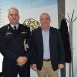 Επίσκεψη νέου Αστυνομικού Διευθυντή στον Δήμαρχο Χαλκιδέων