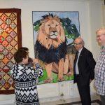 Ολοκληρώθηκε η έκθεση έργων πάτσγουορκ (patchwork) στη Χαλκίδα.