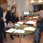 Δωρεά απορριμματοφόρου ανακύκλωσης στον Δήμο Χαλκιδέων