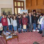 Επίσκεψη μαθητών Γυμνασίων στο Δημαρχείο της Χαλκίδας