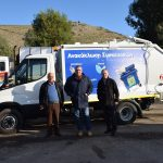 Νέο απορριμματοφόρο όχημα στο δυναμικό του Δήμου Χαλκιδέων