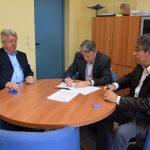 Υπογραφή σύμβασης για το έργο Αναβάθμισης Κέντρου Λυμάτων Χαλκίδας