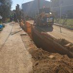Ξεκίνησε η κατασκευή των δικτύων αποχέτευσης στη Δημοτική Κοινότητα Αγίου Νικολάου