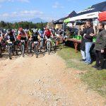 Στους αγώνες ορεινής ποδηλασίας ο Δήμαρχος Χαλκιδέων.
