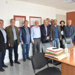 Επίσκεψη Δημήτρη Αναγνωστάκη στον Δήμαρχο Χαλκιδέων