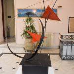 """Γλυπτά , έργα μαθητριών του Εργαστηρίου Τέχνης εκτίθενται στο Δημαρχιακό Μέγαρο """"Κότσικα"""""""