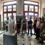 Με τους εργαζόμενους των υπηρεσιών του Δήμου Χαλκιδέων στο Μέγαρο Κότσικα συναντήθηκε η Δήμαρχος Έλενα Βάκα