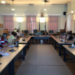 Συνάντηση Δημάρχου Χαλκιδέων Έλενας Βάκα με τους Προέδρους των Κοινοτήτων