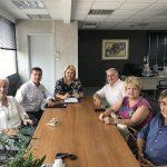 Συνάντηση Δημάρχου Χαλκιδέων με το ΔΣ της ΟΠΣ.Ε.