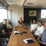 Συνάντηση Δημάρχου Χαλκιδέων με την ΕΠΣΕ