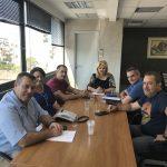 Συνάντηση της Δημάρχου Χαλκιδέων με εκπροσώπους του Εμπορικού Συλλόγου Χαλκίδας