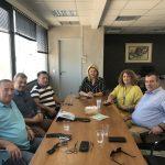 Συνάντηση της Δημάρχου Χαλκιδέων με τη διοίκηση του Επιμελητηρίου Εύβοιας