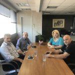 Συνάντηση της Δημάρχου Χαλκιδέων με τη Διοίκηση της Ένωσης Ξενοδόχων Εύβοιας