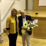 Η Δήμαρχος Χαλκιδέων στην εκδήλωση για τον Ν. Σκαλκώτα