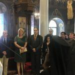 Η Δήμαρχος Χαλκιδέων στη Δοξολογία για τη μνήμη του Αγίου Αρτεμίου