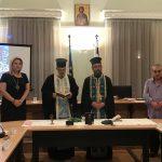 Η Δήμαρχος Χαλκιδέων στον Αγιασμό του Συμβουλίου της Κοινότητας Χαλκίδας
