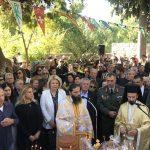 Στην Πανηγυρική Θεία Λειτουργία στον Άγιο Γεώργιο Αρμά η Δήμαρχος Χαλκιδέων