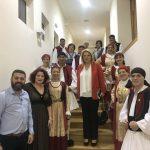 Στην εκδήλωση της Ομοσπονδίας Πολιτιστικών Συλλόγων Εύβοιας η Δήμαρχος Χαλκιδέων