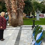 Στον Εορτασμό της Επετείου της Εθνικής Αντίστασης η Δήμαρχος Χαλκιδέων