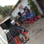 Νέα χορτοκοπτικά μηχανήματα και εργαλεία στην Υπηρεσία Πρασίνου του Δήμου Χαλκιδέων